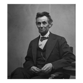 Abraham Lincoln 1865 Print