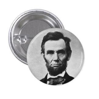 ABRAHAM LINCOLN 3 CM ROUND BADGE