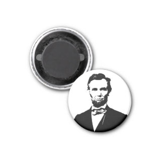 Abraham Lincoln 3 Cm Round Magnet