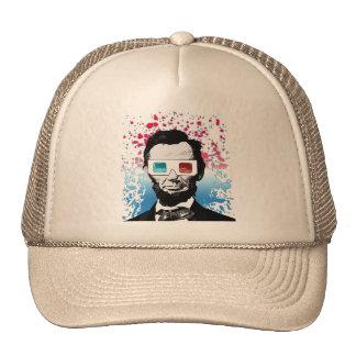 Abraham Lincoln - 3D Cap