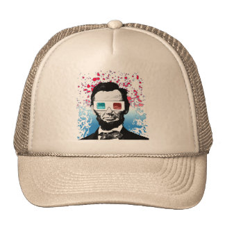 Abraham Lincoln - 3D Mesh Hats