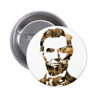 Abraham Lincoln 6 Cm Round Badge