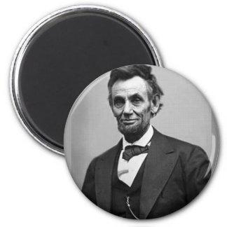 Abraham Lincoln 6 Cm Round Magnet