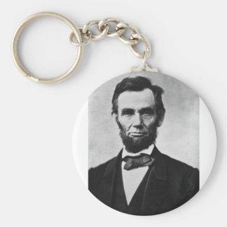 Abraham Lincoln 8 Keychains