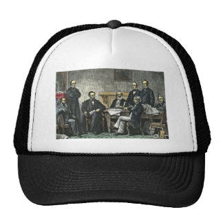 Abraham Lincoln and His Cabinet Cap