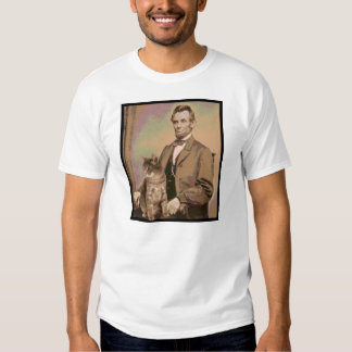 "Abraham Lincoln and his cat ""Dixie"" Shirt"