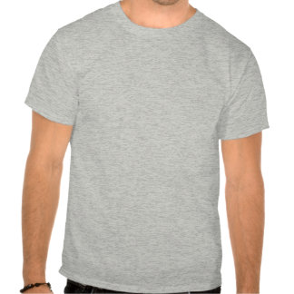 Abraham Lincoln and quote - grey - one side Tee Shirt