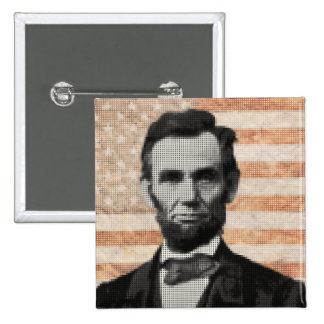 Abraham Lincoln Pinback Buttons