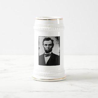 Abraham Lincoln Beer Stein 18 Oz Beer Stein