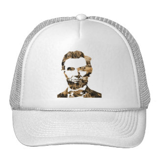 Abraham Lincoln Trucker Hat