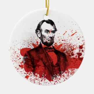 Abraham Lincoln Christmas Ornament
