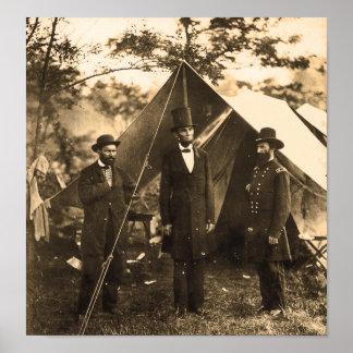 Abraham Lincoln Civil War Poster