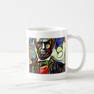 Abraham Lincoln digital colourful painting Coffee Mug
