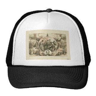 Abraham Lincoln Emancipation Proclamation Collage Hat