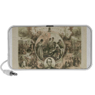 Abraham Lincoln Emancipation Proclamation Collage Travelling Speakers