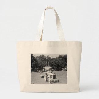 Abraham Lincoln Float, 1923 Jumbo Tote Bag