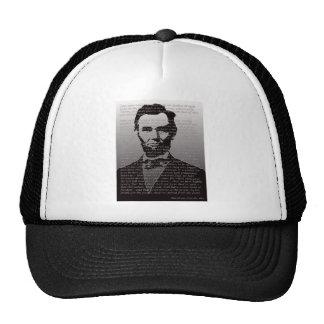 Abraham Lincoln Gettysburg Address Cap