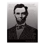 Abraham Lincoln Gettysburg Address Postcards