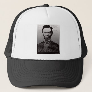 Abraham Lincoln Gettysburg Address Trucker Hat