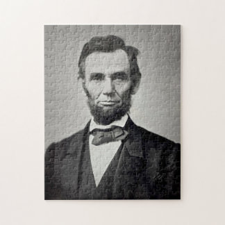 Abraham Lincoln Gettysburg Portrait Jigsaw Puzzle