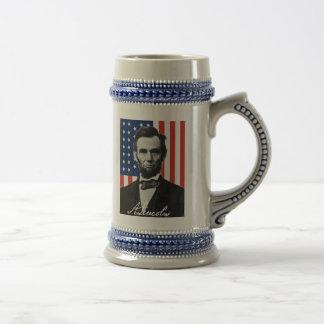 Abraham Lincoln Gettysburg Quote Beer Stein