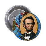 Abraham Lincoln Giving Gettysburg Address 6 Cm Round Badge