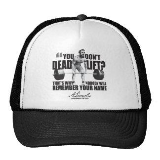 Abraham Lincoln Gym Humor - Deadlift Cap