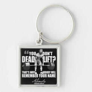 Abraham Lincoln Gym Humor - Deadlift Key Chains