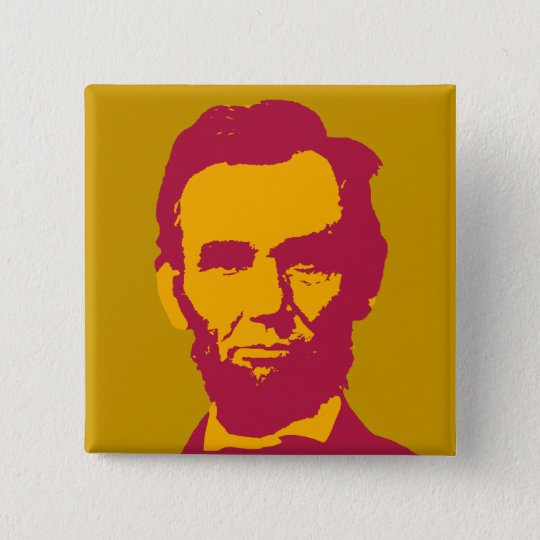 Abraham Lincoln in Orange & Red 15 Cm