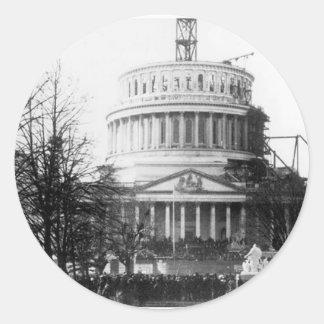 Abraham Lincoln, Inaugural Address, March 4, 1861 Round Sticker