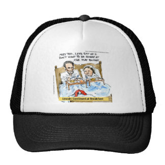 Abraham Lincoln & Mary Todd Breakfast In Bed Cap