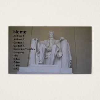 Abraham Lincoln Memorial Business