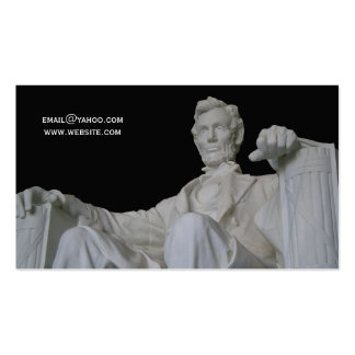 Abraham Lincoln Memorial Business Pack Of Standard Business Cards