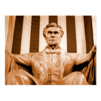 Abraham Lincoln Memorial US President Post Card