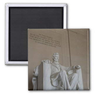 Abraham Lincoln Memorial Washington DC magnet