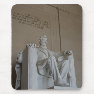 Abraham Lincoln Memorial Washington DC mousepad