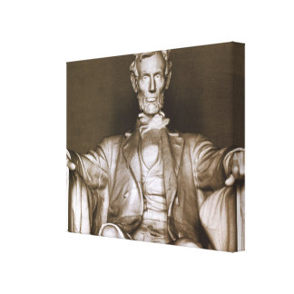 Abraham Lincoln Memorial Wrapped Canvas Photo Canvas Prints