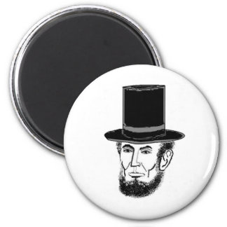 Abraham Lincoln needs your vote 6 Cm Round Magnet