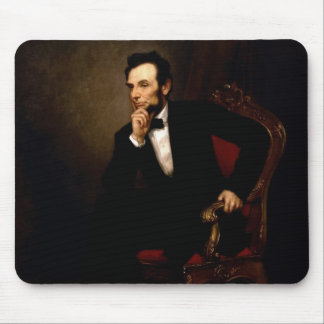 Abraham Lincoln Official White House Portrait Mouse Mat