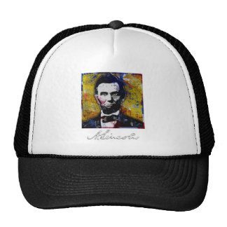 Abraham Lincoln - Painting Cap