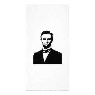 Abraham Lincoln Photo Greeting Card