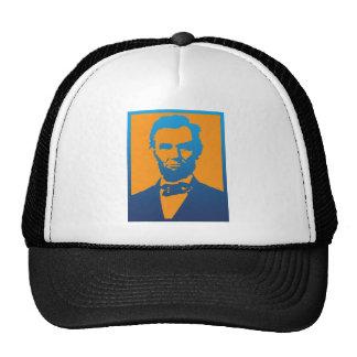 Abraham Lincoln Pop Art Cap