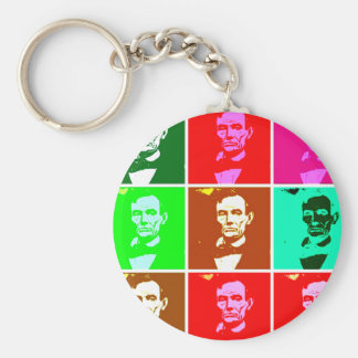 Abraham Lincoln Pop Art T-shirts, Sweats Key Chains