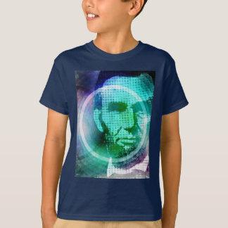 Abraham Lincoln Pop Art Tees