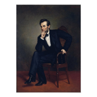Abraham Lincoln Portrait by George Healy Photo