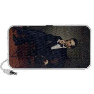 Abraham Lincoln Portrait by George Healy Laptop Speaker