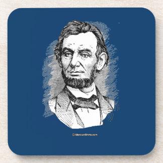 Abraham Lincoln Portrait Drink Coasters