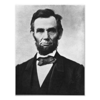 Abraham Lincoln Portrait Photo Print