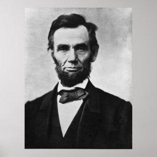 Abraham Lincoln Portrait Print