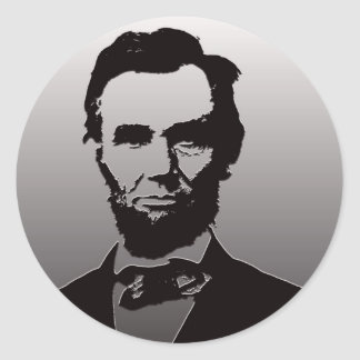 Abraham Lincoln Portrait Sticker